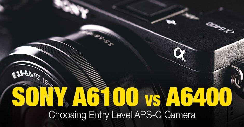 Sony a6100 vs a6400