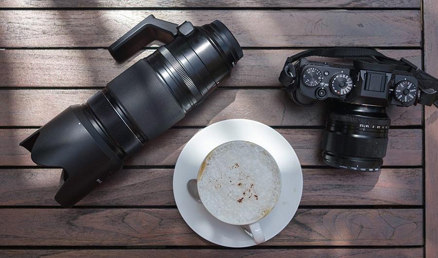 Fujifilm XT3 with Fujinon 56mm f/1.2 and Fujinon 50-140mm f/2.8 lenses
