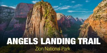 Conquering Angels Landing Trail in Zion National Park (Utah)