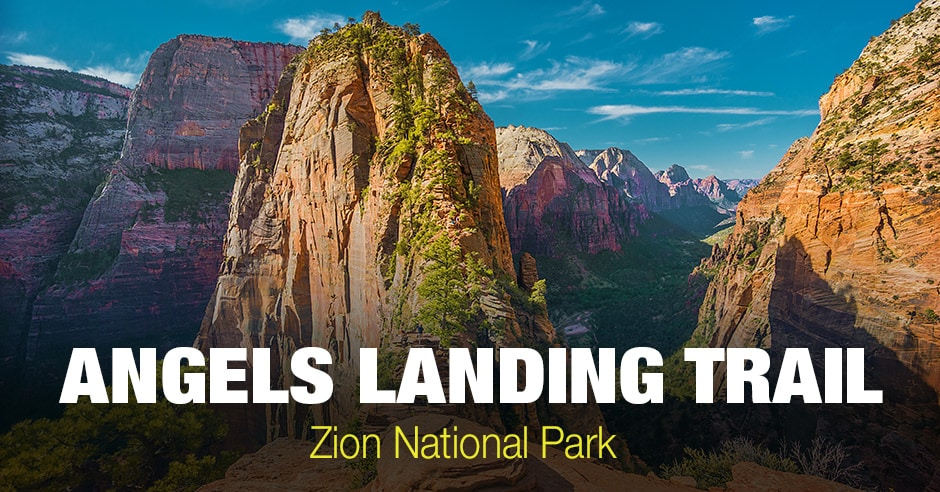 Angels Landing Trail in Zion National Park (Utah)
