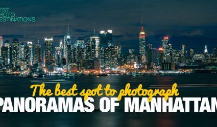 New York City – the Best Spot to Photograph Panoramas of Manhattan