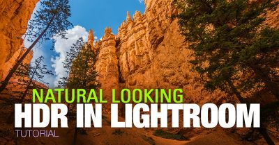 Natural Looking HDR In Lightroom
