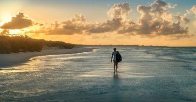 Long Walk on Cayo Santa Maria Beach (Cuba)