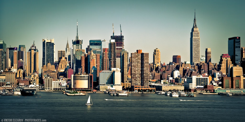 New York City – the Best Spot to Photograph Panoramas of Manhattan 3