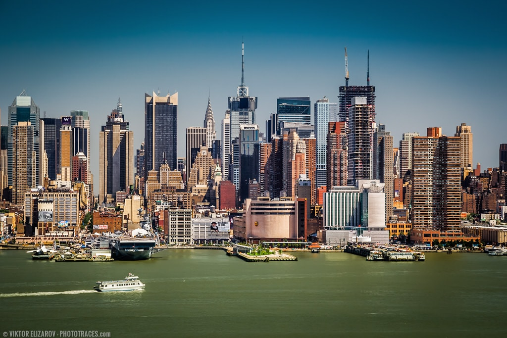 New York City – the Best Spot to Photograph Panoramas of Manhattan 1