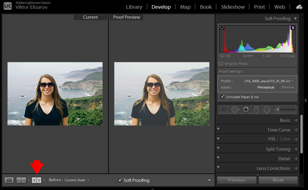Lightroom Soft Proofing - Step-By-Step Workflow 7