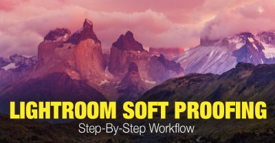 Soft Proofing in Lightroom