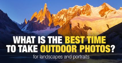 Best Time to Take Pictures Outside: In-Depth Gude (Infographics)