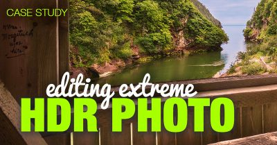 Case Study: Editing Extreme HDR Photo