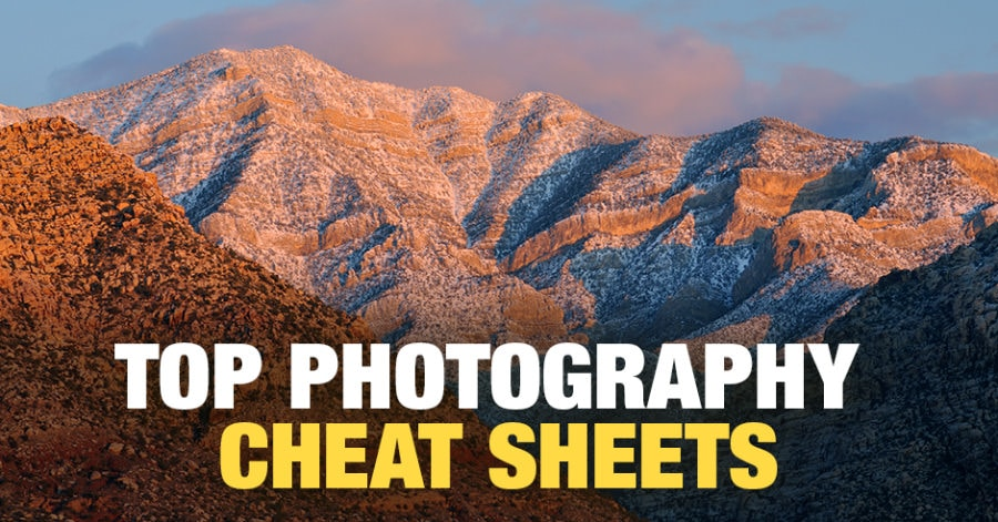 Photography Cheat Sheet Selection of Top Infographics