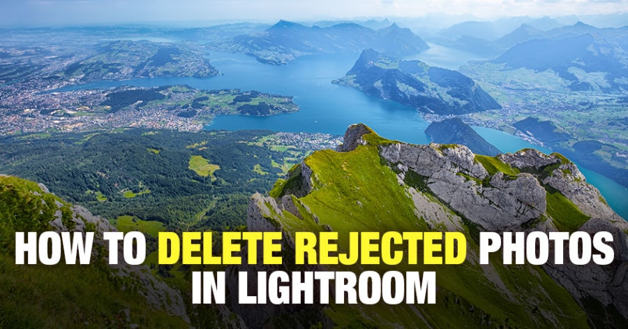 How to Delete Rejected Photos in Lightroom