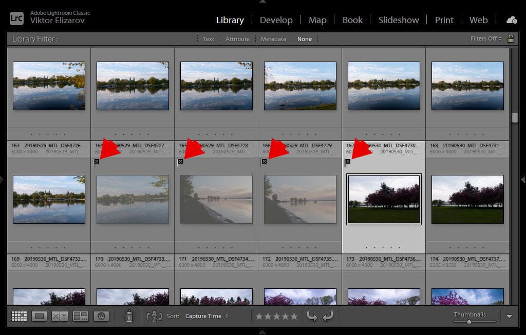 How to Delete Rejected Photos in Lightroom (My Culling Method) 2