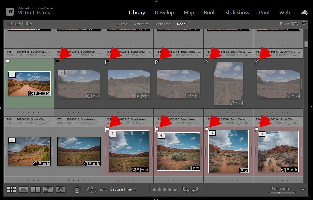 How to Delete Rejected Photos in Lightroom (My Culling Method) 4
