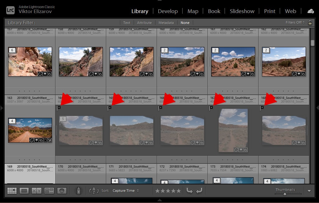 How to Delete Rejected Photos in Lightroom (My Culling Method) 3