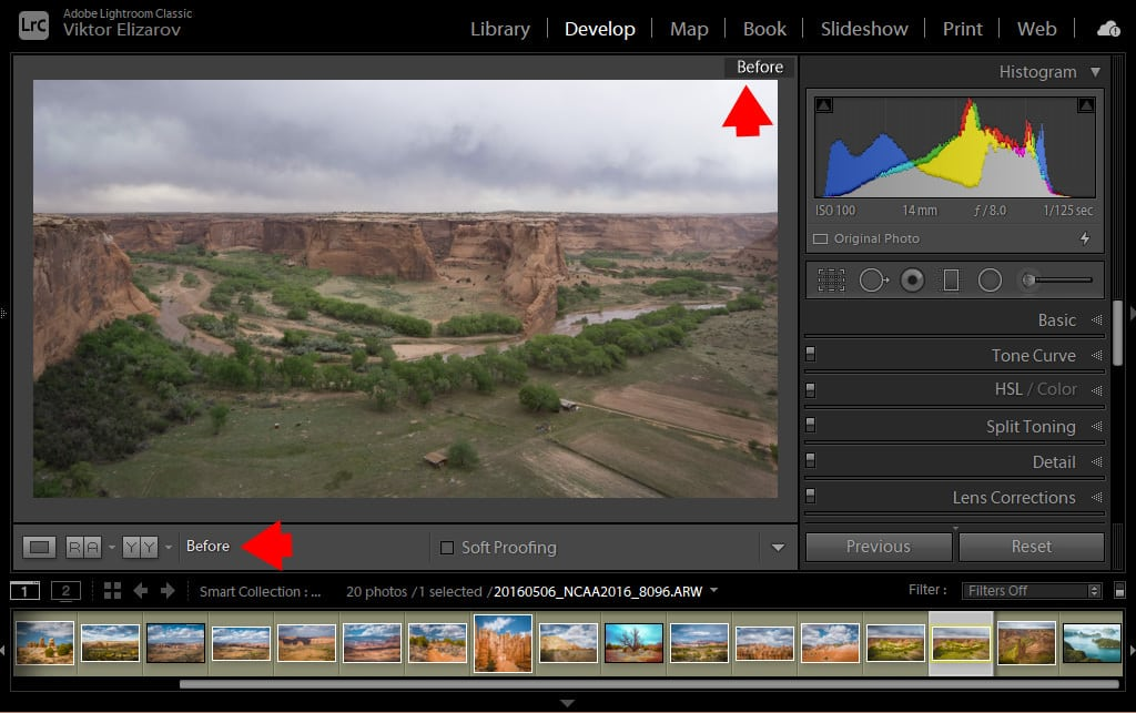 Lightroom Before and After: 7 Ways to Visualize Your Edits 1