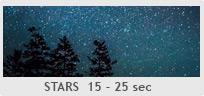 Shutter Speed - 15-25 sec - Stars (Astrophotography)