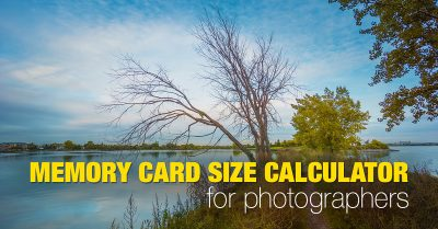 Memory Card Size Calculator for Photographers