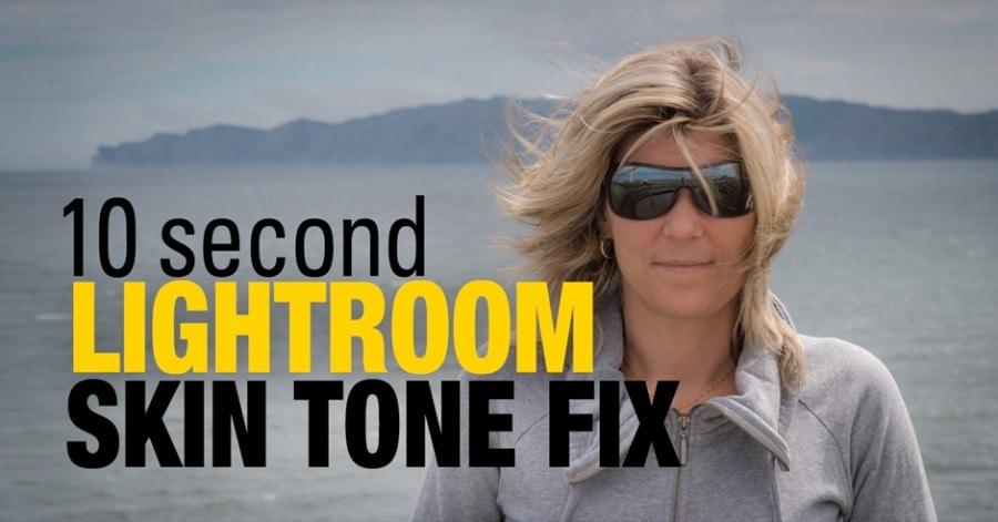 10 Second Lightroom Skin Tone Fix 1