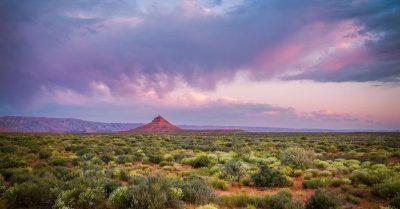 Sunset in the Desert (Utah)