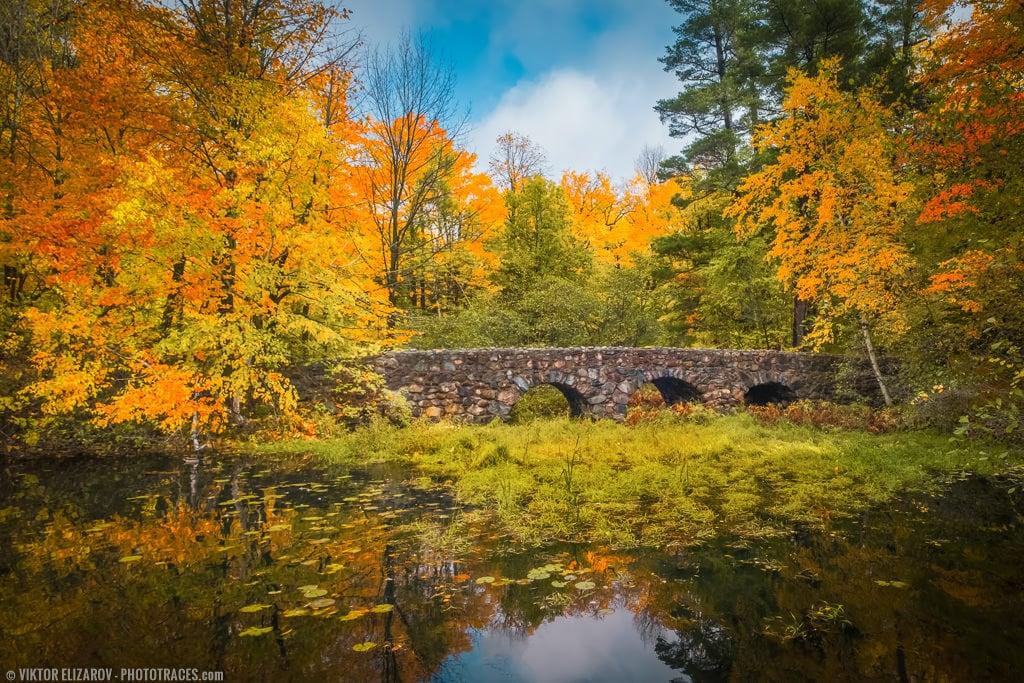 Stone Bridge & Explosion of Colors (Montreal) 1