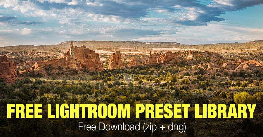 Free Lightroom Presets - Free Download (zip + dng)