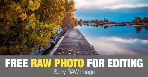 Free RAW Photo: Autumn Dock