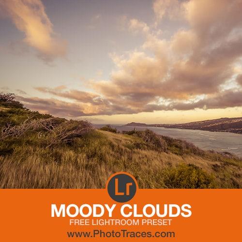 Free Moody Clouds Lightroom Preset 1