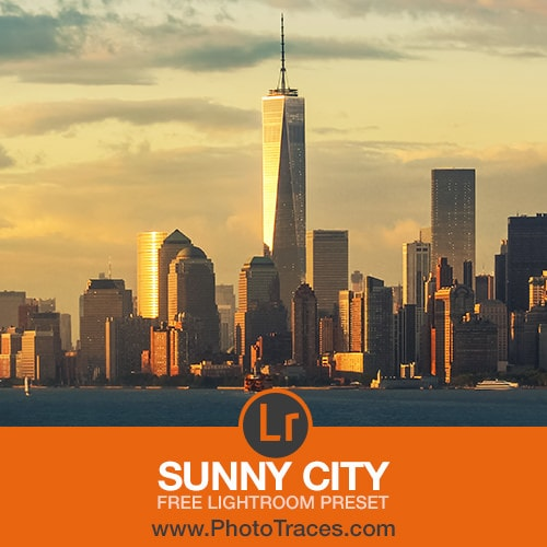 Sunny City: Free Cityscape Lightroom Preset 1