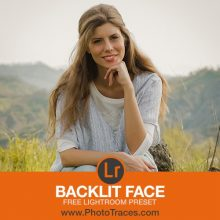 Backlit Face: Free Portrait Lightroom Preset