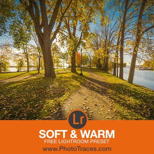 Soft & Warm Free Landscape Lightroom Preset 1