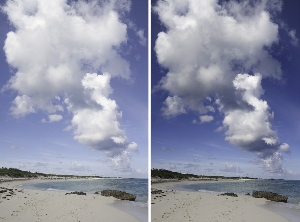 Creating a Dark Blue Sky in Photoshop in Under One Minute 2