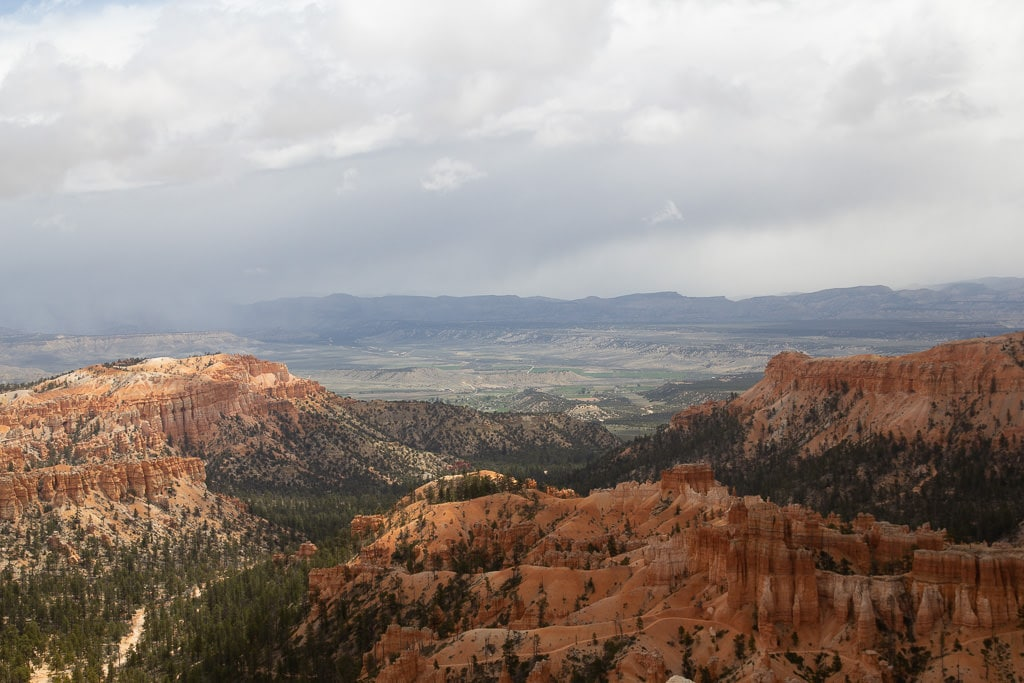 Free RAW Photo: Snow Clouds Over Bryce (Utah) 1