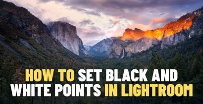 How to Set Black and White Points in Lightroom