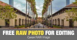 Free RAW Photo: Stanford Campus (California)