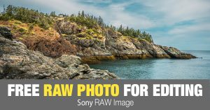 Free RAW Photo: Grand Manan Island