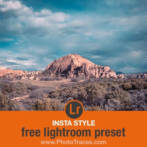 Insta Style: Free Instagram Lightroom Preset 1