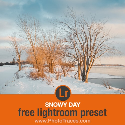 Snowy Day: Free Snow Lightroom Preset 1