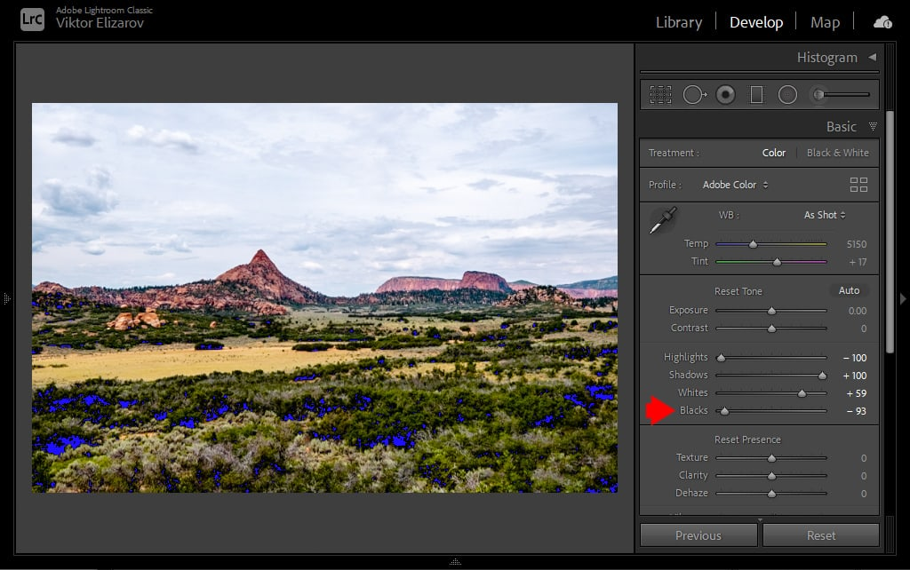 How to Set Black and White Points in Lightroom 8