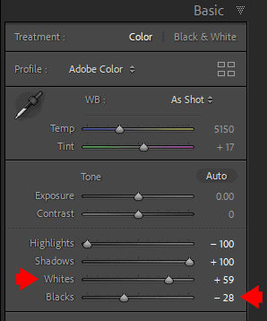 How to Set Black and White Points in Lightroom 5