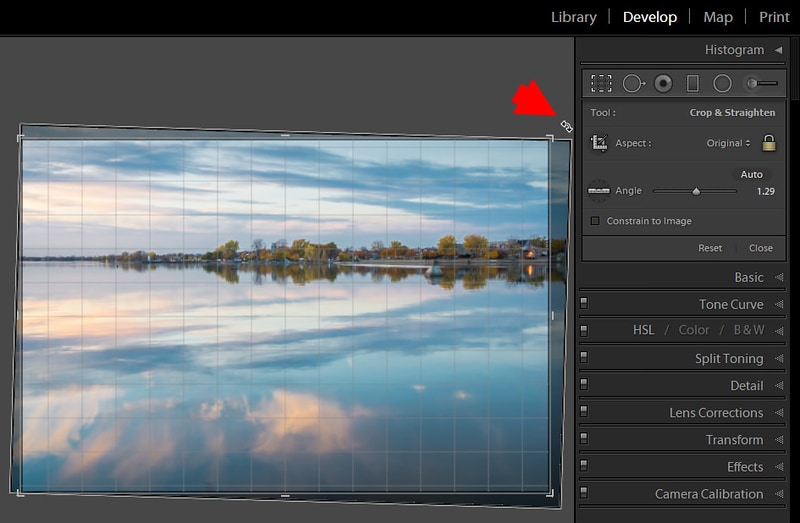 How to Straighten a Photo in Lightroom – 3 Step Approach 10