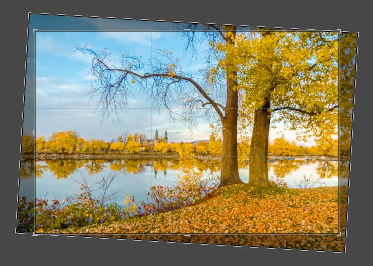 How to Straighten a Photo in Lightroom – 3 Step Approach 13