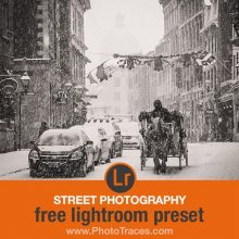 Free Street Photography Lightroom Preset