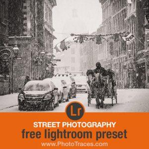Free Street Photography Lightroom Preset Download (ZIP)
