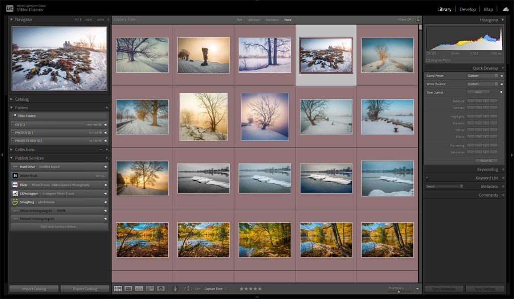Best Photo Organizing Software: Adobe Lightroom
