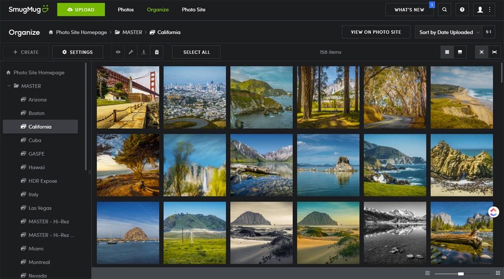 Best Photo Organizing Software: SmugMug