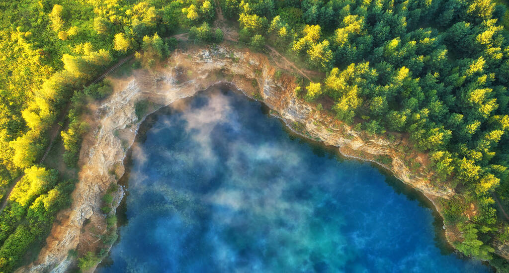 Vantage Points in Photography Composition: Aerial View from Drone