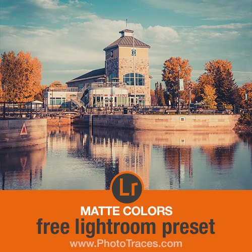 Free Matte Lightroom Preset 1